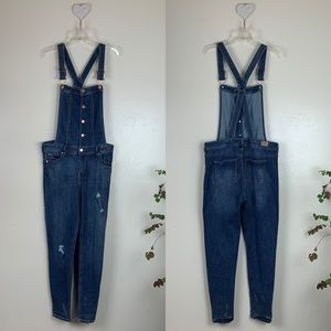 CELEBRITY PINK Denim Overalls Slim Fit Distressed